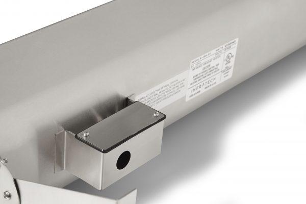 Chauffe-Terrasse Radiant à Infrarouge - 2500 watts - 39 pouces