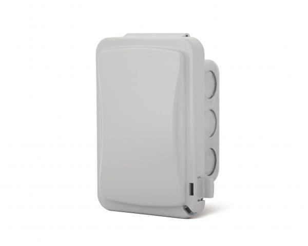 Interrupteur simple encastré - Couvert Imperméable