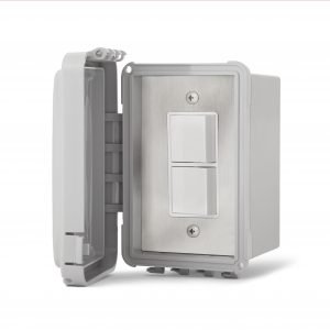 Interrupteur simple superposé - Boîte & Couvert Imperméable