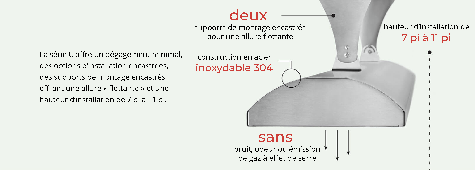 Chauffe-terrasse infratech série C